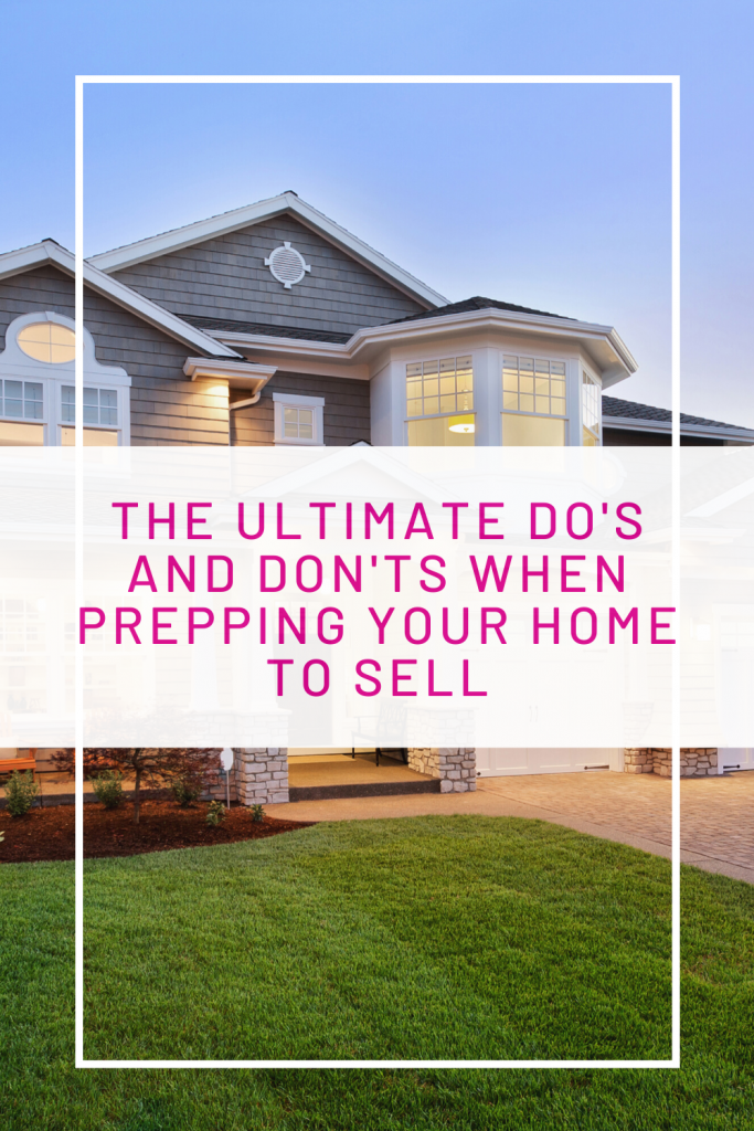 prepping your home to sell